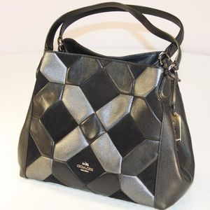 *SOLD!* Coach Edie 31 Patchwork Leather Bag